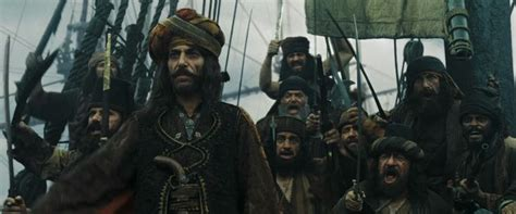 Ottoman pirate captain Ammand and his crew from Pirates of