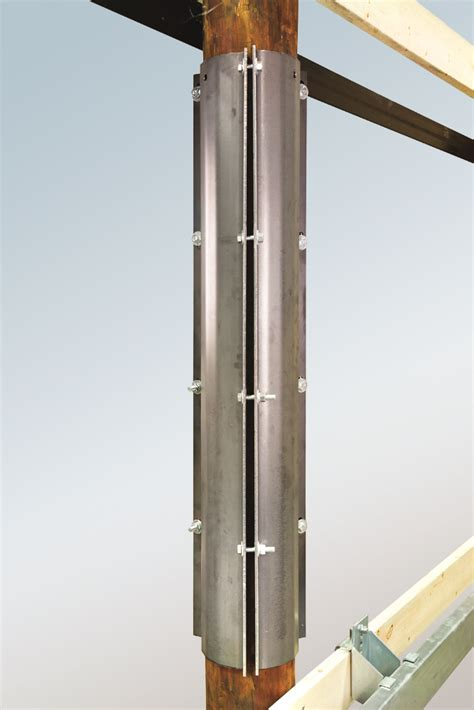Wood Pole Reinforcement Kits | Tiffin Metal Products