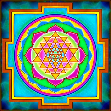 Components Of A Sri Yantra Mandala And Its Meaning - The