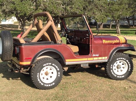 Classic 1980 Jeep CJ5 Renegade, Factory V8 with 4 speed trans