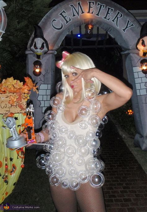 Lady Gaga's Bubble Outfit Halloween Costume