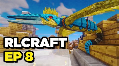 RLCraft Let's Play - GOLDEN ROC AQUIRED (Ep 8) - YouTube