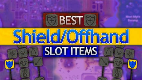 Best Shield/Offhand Slot Items in OSRS | Old School