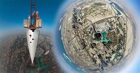 Is this the world's HIGHEST selfie? Photographer takes 2