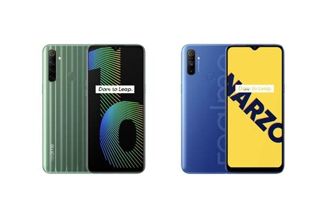 Realme Narzo 10 and Narzo 10A launched in India: price