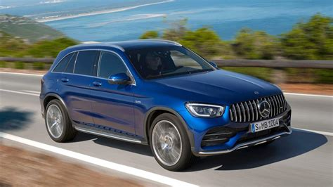 Kicking it with the latest 2020 Mercedes-AMG GLC 43 SUV