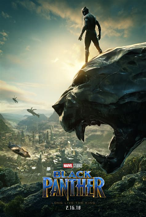 New Black Panther Movie Poster - #BlackPanther   Finding