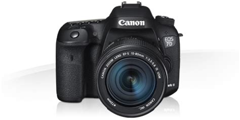 Canon EOS 7D Mark II -Specification - EOS Digital SLR and