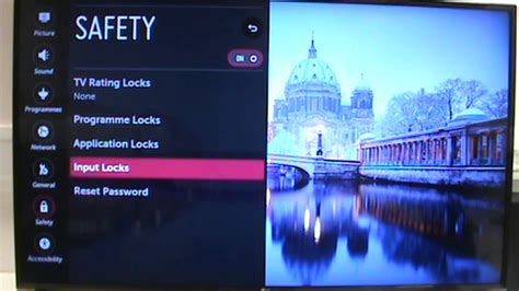 LG TV WebOS Safety Settings and PIN Master Reset - YouTube