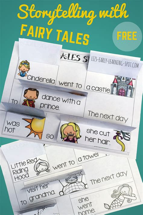 Storytelling with Fairy Tales - Liz's Early Learning Spot