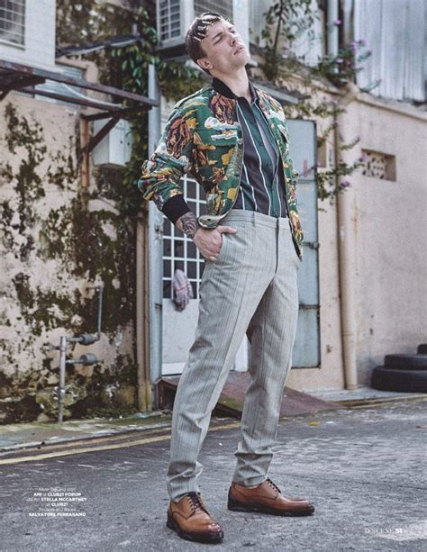 The Unconventional: Antoni Bialy Stars in D'SCENE Magazine
