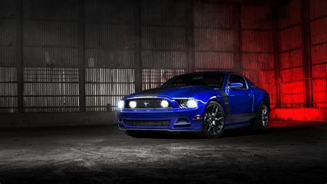 Ford Mustang Blue Wallpaper | HD Car Wallpapers | ID #5626