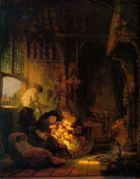Holy Family, 1640 - Rembrandt - WikiArt