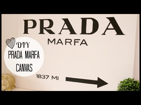 Prada Marfa Ready To Hang Canvas Wrap or Luster Paper | Etsy