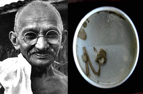Bloodied Dirt from Mahatma Gandhi Assassination May Reach