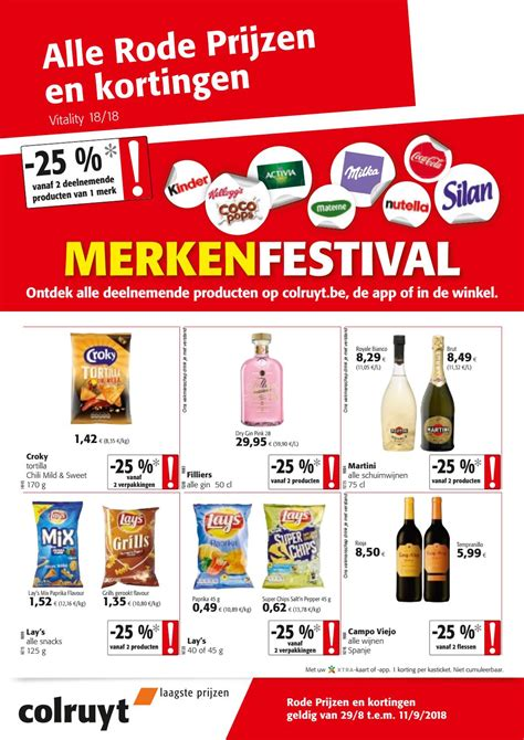 Merkenfestival - 29/8 - 11/9 by Colruyt Group Services - Issuu