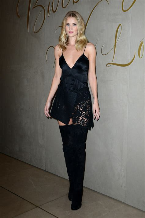 Rosie Huntington-Whiteley Over the Knee Boots - Over the