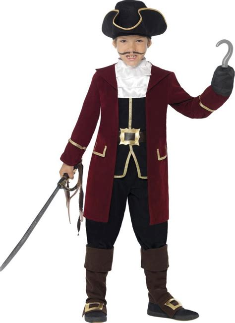 Boys Captain Hook Costume by Smiffys 43997 | Karnival Costumes