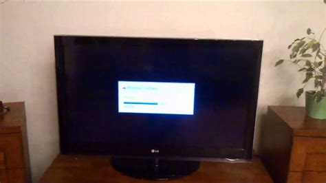 How to upgrade firmware LG TV 42LH4000 - YouTube