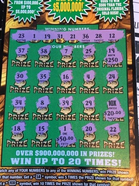 Don't Pick Your Florida Lottery Scratch Tickets Until You