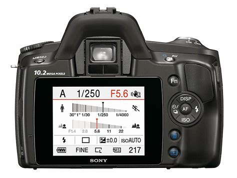 Sony Alpha 230 review