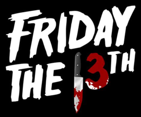 Friday the 13th t-shirts - Jason Voorhees t-shirt, Crystal