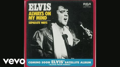 """Elvis Presley - Off the Record: """"Always On My Mind"""" from"""
